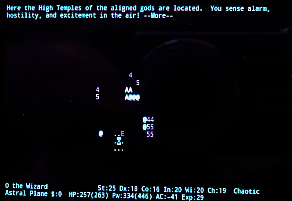 Nethack Endgame 14 by Astanael
