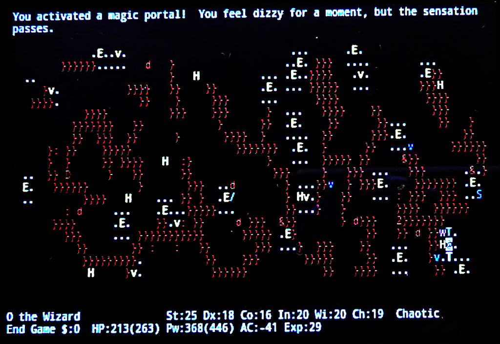 Nethack Endgame 07 by Astanael