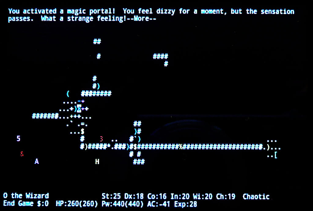 Nethack Endgame 05 by Astanael