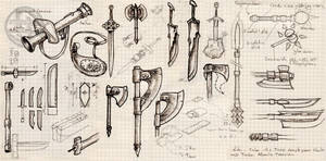Patterns - Weapons Assortment