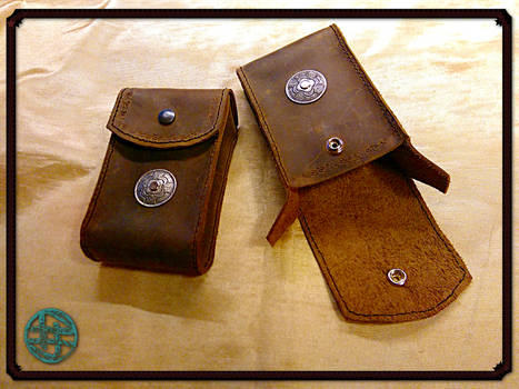 Multipurpose Leather Pouches