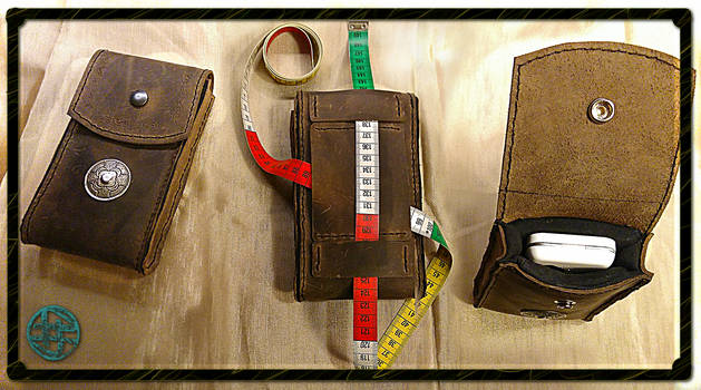 Phone Leather Pouch