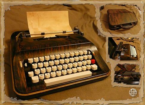 Typewriter paint-job