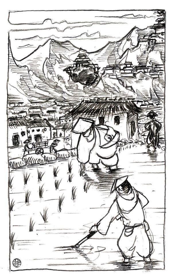 [Commission] - D2 - Hae No Ryu, Lower Plateau
