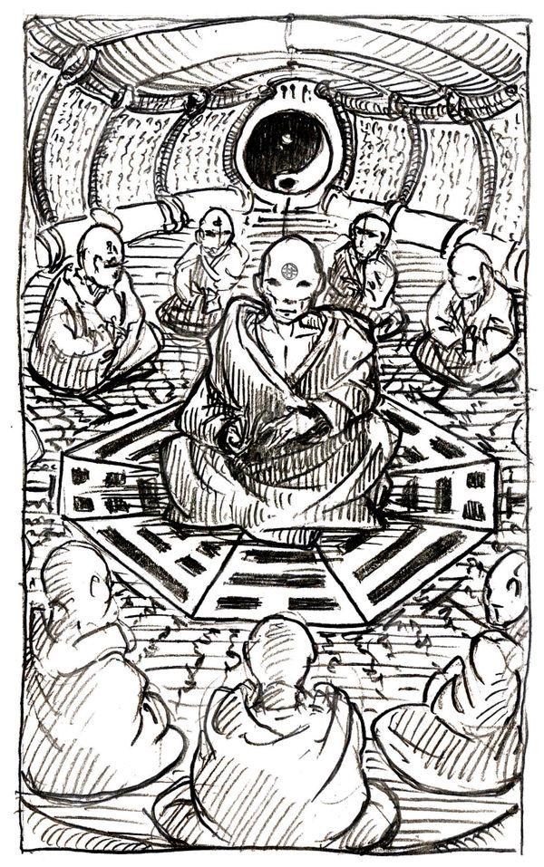 [Commission] - D7 - Servant of the Dark Koki