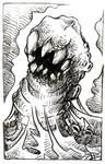 Worm and teeth
