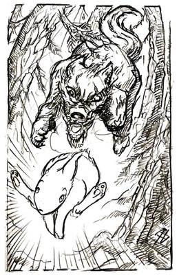 Feral bone spirit -29- Run!