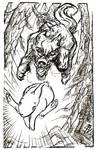 Feral bone spirit -29- Run! by Astanael