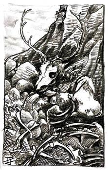 Feral bone spirit -31- Scattered