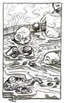 Bathing with Shoggy