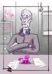 The overseer is not pleased