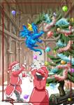 Mischieving Dragon at Noel s