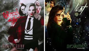 Harley Quinn and Enchantress
