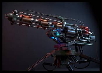 Pyrogauss cannon by Bozar88