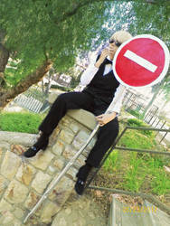 Calm Shizuo is calm by BokuNoCosplay