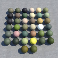 Military paint shaders, preview