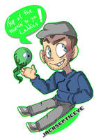 Jacksepticeye and Sam by Monodes