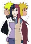 NaruHina and MinaKush Colored