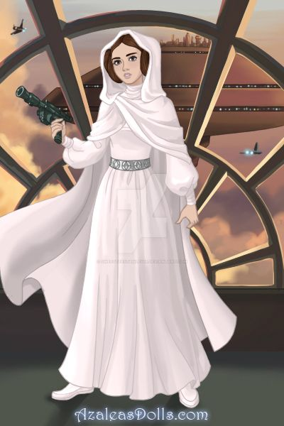 Princess Leia Organa (May The 4th Be With You) by SweetteeStanley18