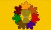 Autumn Wood State Flag by Rohan-killdeer