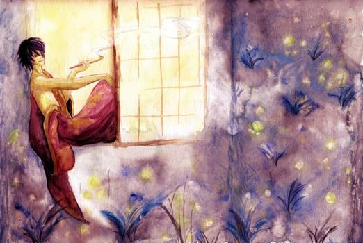 Summer fireflies - Takasugi