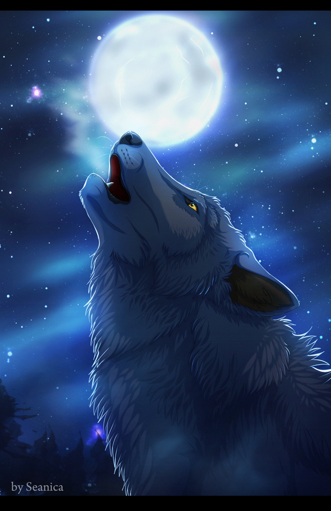 Howling Wolf by Seanica