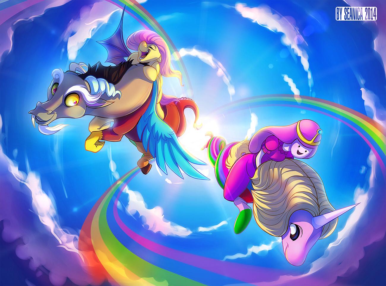 Adventure Time with FlutterCord and RainiGum