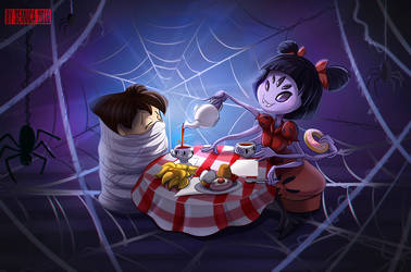 Muffet's tea by Seanica