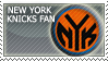 New York Knicks Fan Stamp by Rebound94