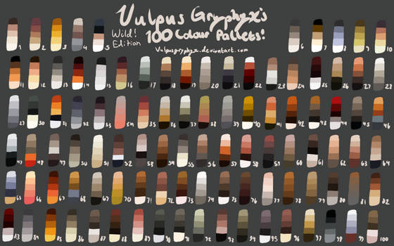 F2U Natural Color Palettes