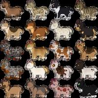Cheap Chibi Dogs SP - FREE - CLOSED by Iuminara