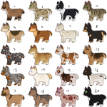Cheap Chibi Dogs SP - FREE - CLOSED