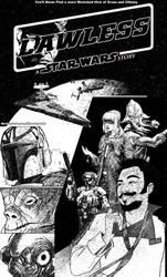 Lawless: A Star Wars Story cover (B/W)