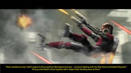 'Red Shooting Back', Siege of Mandalore