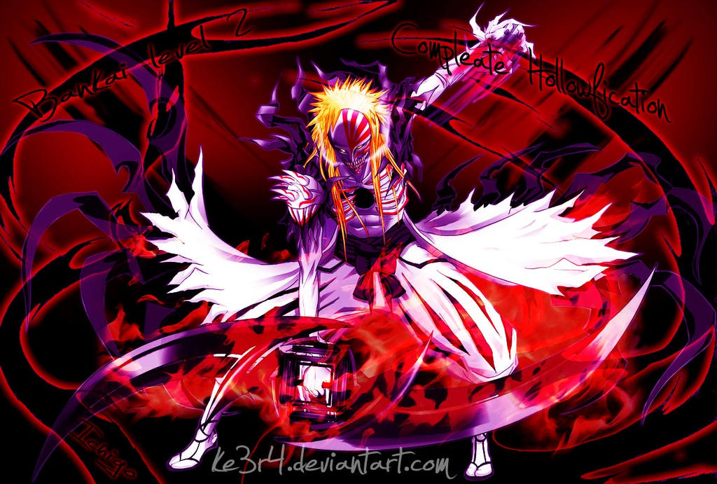 Ichigo Hollow Bankai 2 by ke3r4 on DeviantArt
