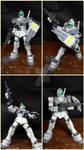 Rgm-79 GM White Dingo ver. (Gundam 0079)