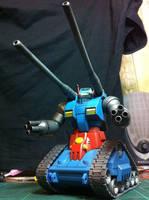 1/144 scale Guntank from Gundam 0079 1/2 by BazSg