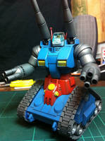 RX-75-4 Guntank (Gundam 0079) 2/2 by BazSg