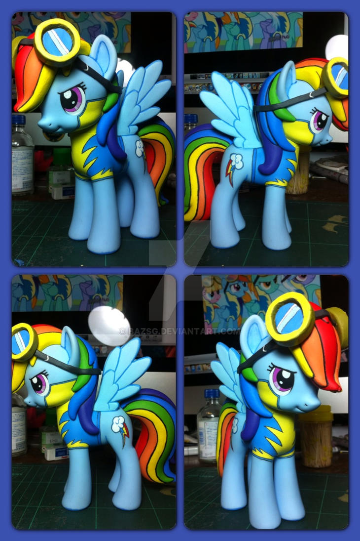 Rainbow Dash (Wonderbolts Academy Ver.) by BazSg