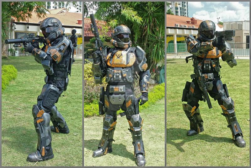 HALO ODST 'Breaker', 405th Singapore detachment