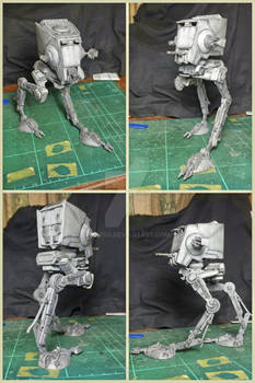 AT-ST from Star Wars (MPC 1/54 Scale)