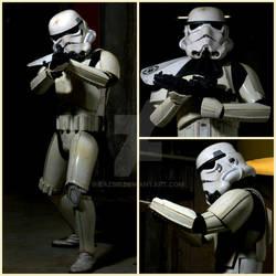 Sandtrooper suit from Star Wars