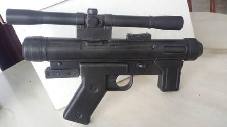 1/1 scale Star Wars SE-14r Stormtrooper sidearm