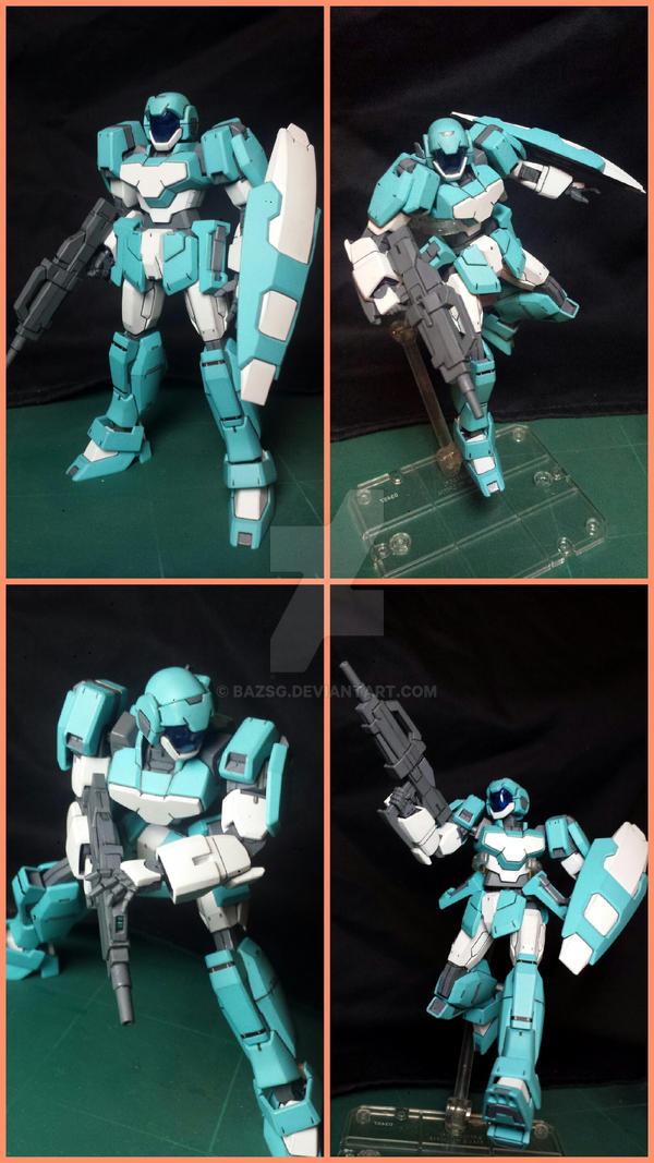 RGE-G1100 Adele (Gundam AGE) by BazSg