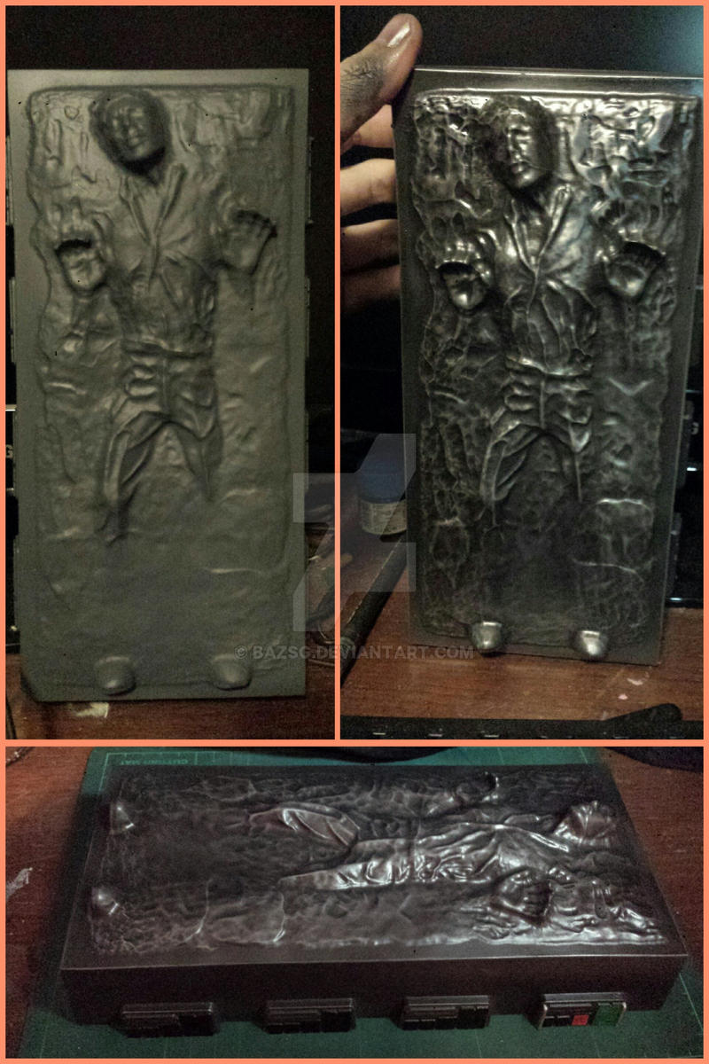 Han Solo in Carbonite (Star Wars) by BazSg