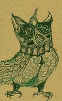 Green Owl by KronosX