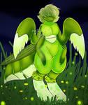 a Mantis oc