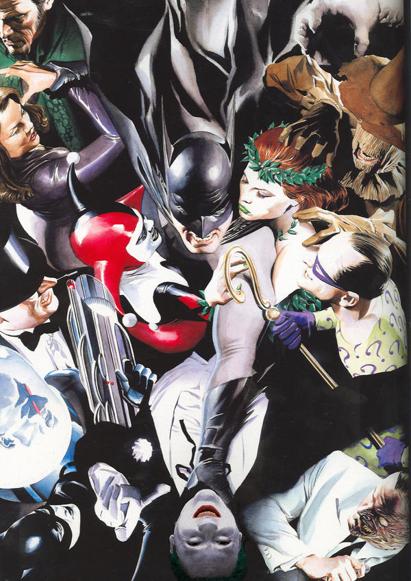 Me In Alex Ross Painting by DivineLight23