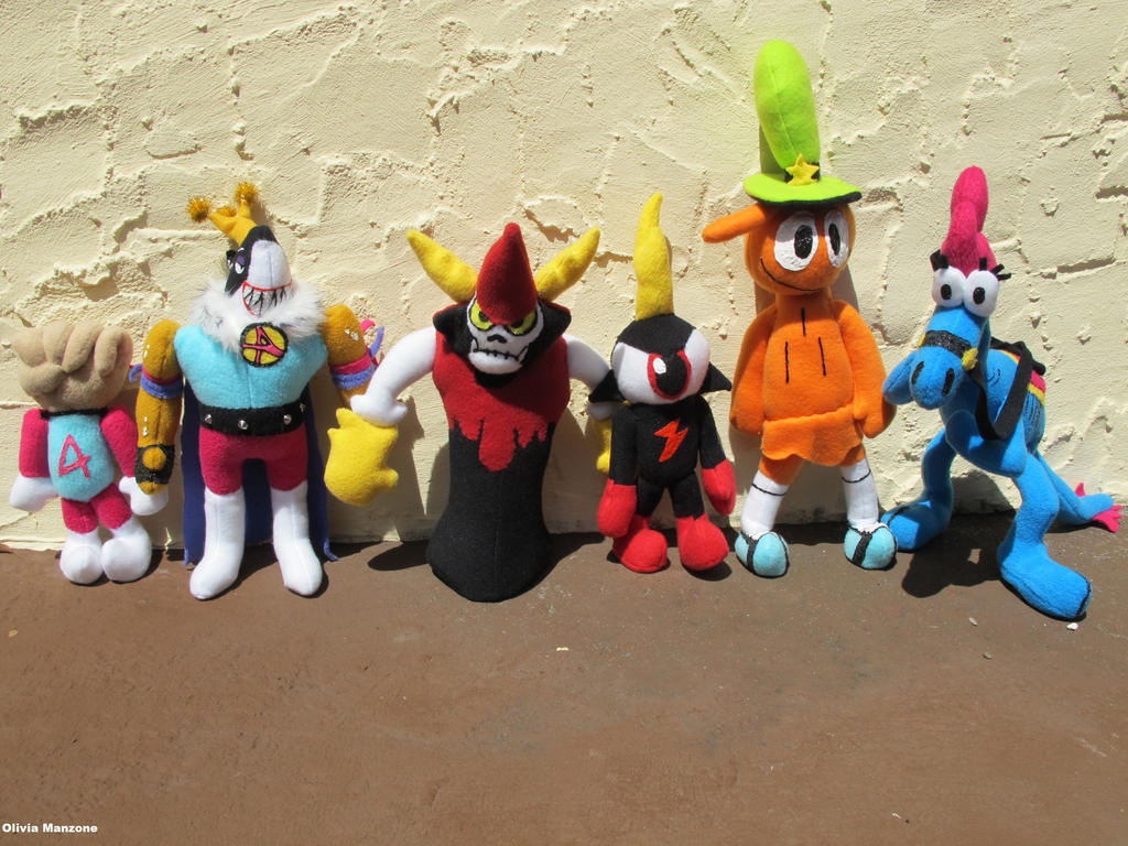 Wander Over Yonder Plushes by bigtimetransfan27 on DeviantArt