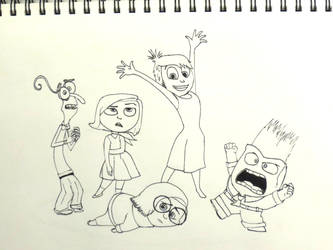 Inside Out - Inktober Day 5